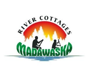 logo madawasak river cottages rent